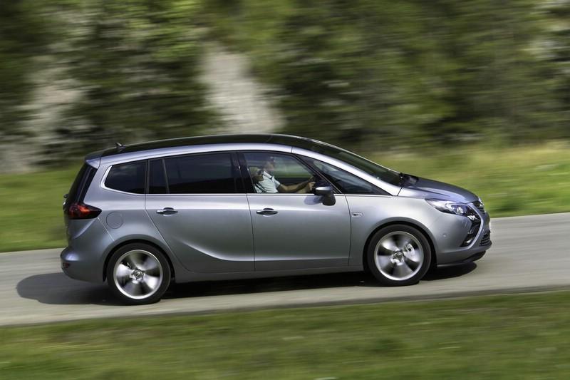 fahrbericht opel zafira tourer 1.4 turbo (140 ps): kompaktvan im test