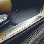 Die Einstiegsleisten des Porsche Panamera Platinum Edition
