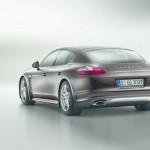 Porsche Panamera-Sondermodell Platinum Edition in der Heckansicht