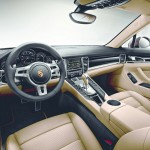 Der Innenraum des Porsche Panamera Platinum Edition