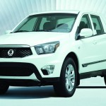 Ssangyong-Pickup Actyon Sports in Weiss