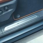 Die Einstiegsleisten des VW Touareg Edition X