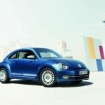 VW Beetle Remix in Blau
