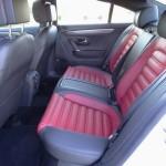 Im Fond finden die Passagiere des Volkswagen CC 1.8 TSI genügend Platz