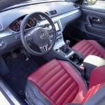 Der Innenraum des Volkswagen CC 1.8 TSI