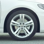 Die Leichtmetallfelgen des VW CC R-Line