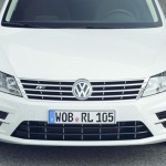 Der Front des VW CC mit R-Line-Ausstattung