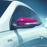 VW Scirocco GTS mit Außenspiegelkappen in Candy-Weiß
