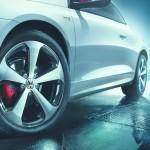 18 Zoll Reifen des VW Scirocco GTS
