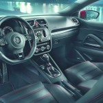 Exklusiv das Ambiente des VW Scirocco GTS