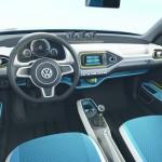 Das Cockpit der VW-Studie Taigun