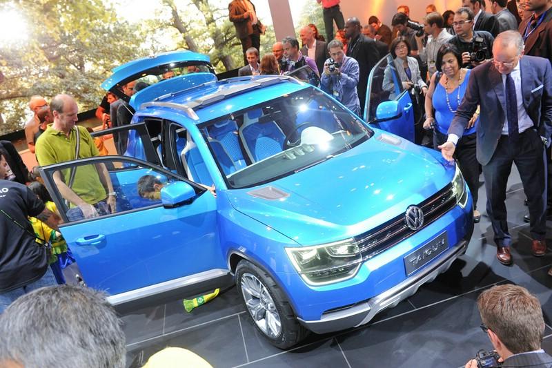 Volkswagen Taigun auf der Internationalen Motor Show in São Paulo