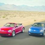 VW Beetle Cabrio auf den Strassen von LA