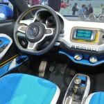 Der Fahrersitz des Volkswagen Taigun