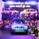 Der Volkswagen Taigun bei der Präsentation in Brasilien
