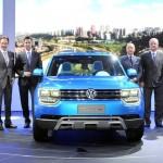 Volkswagen-Vorstand stellt den Taigun vor