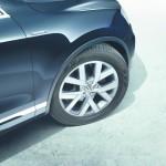 Die Felgen des VW Touareg Edition X