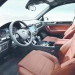 Das Interieur des VW Touareg Edition X