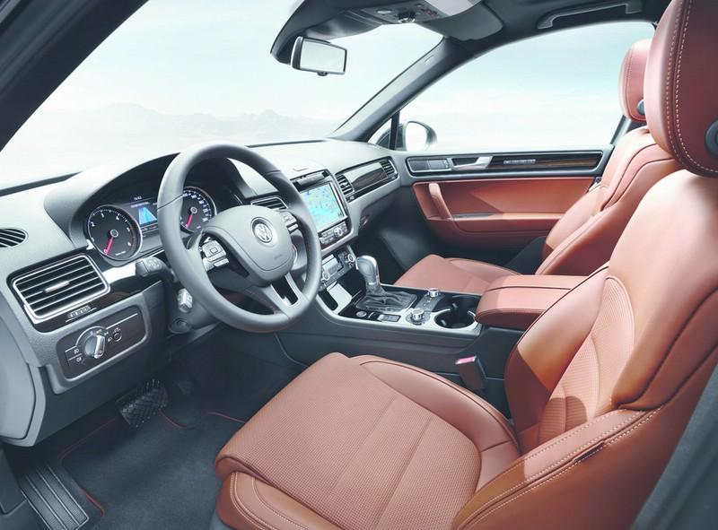 Galerie: Volkswagen Touareg Edition X Interieur | Bilder und Fotos