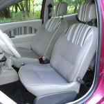 Die vorderen Sitze des Renault Twingo Liberty 1.2