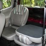 Die hinteren Sitze des Renault Twingo Liberty 1.2