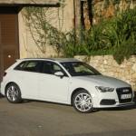 2013 Audi A3 Sportback von der Seite