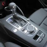 Die Mittelkonsole des Audi A3 Sportback