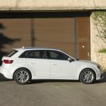 Die Seitenpartie des neuen Audi A3 Sportback