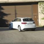 Der neue Audi A3 Sportback in der Heckansicht