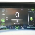 Das Display des Chevrolet Volt