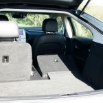 Der Laderaum bei umgeklappten Sitzen im Chevrolet Volt