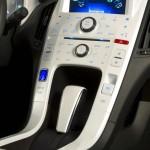 Die Mittelkonsole des Chevrolet Volt