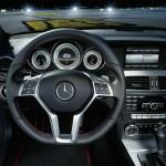 Mercedes C 250 Sport Lenkrad, Cockpit, Mittelkonsole, Armaturenbrett