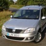 Dacia Logan MCV 2012 in Silber