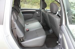 Höhere Sitze im Fond des Dacia Logan MCV