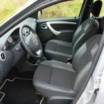 Der Fahrersitz des Dacia Logan MCV