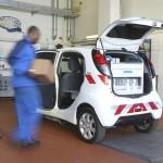Das Platzangebot des Peugeot i0n Cargo