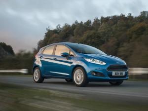 Modellgepflegter Ford Fiesta Exterieur
