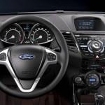 Das Cockpit des überarbeiteten Ford Fiesta