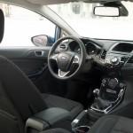Das Interieur des neuen Ford Fiesta 2013
