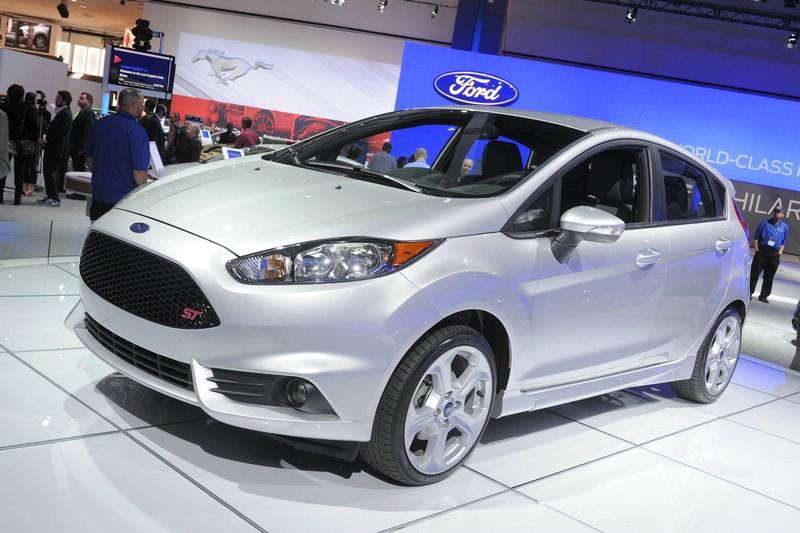 Der neue Ford Fiesta ST auf der Los Angeles Auto Show 2012