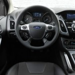 Das Interieur des Ford Focus 1,0 EcoBoost
