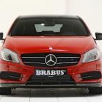 Die Frontpartie der Mercedes-Benz A-Klasse von Brabus