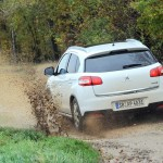 Die Heckansicht des Peugeot 4008 4AWD