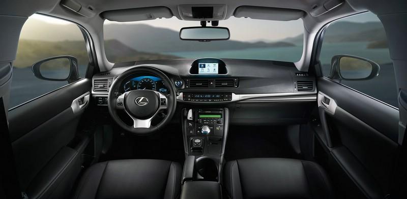 Der Innenraum des Lexus CT200h Sondermodells Business Edition