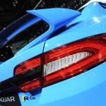 Die Rückleuchten des Jaguar XF-RS