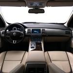 Das Armaturenbrett des Jaguar XF Sportbrake