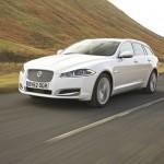 Jaguar XF Sportbrake - Der neue Kombi in Weiss