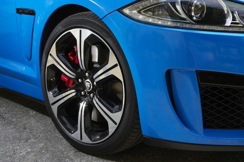 Die 20 Zoll Felgen des Jaguar XFS-R