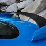 Der Heckspoiler des Jaguar XFS-R